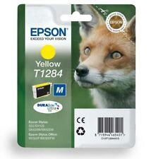 T1284 GIALLO CARTUCCIA INCHIOSTRO EPSON ORIGINALI inchiostro Fox c13t12844010