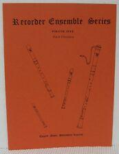 SATB RECORDER ENSEMBLE - BACH CHORALES Sheet Music Book Arranged by Frank Gamble