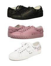 NEW ASH AS DAZED Star Studs Black Pink White Women's Fashion Sneaker Shoes
