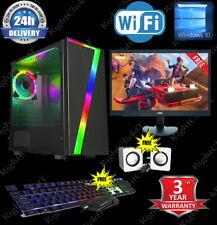 ULTRA Veloce i5 i7 computer desktop da gioco PC 2TB 16GB RAM GTX 1660 Windows 10