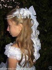 ❤ Kopfschmuck Kommunion Haarschmuck Haargesteck Haarkranz Taufe Braut Blumenkind