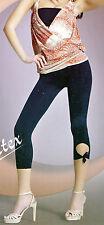 Mujer 7/8 Leggings Aus 3d Mikrofaser 120 Den Diferentes Colores Talla Única