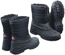 Thermostiefel Canadian Snow Boots Ii Bottes D'Hiver Neige Bottes Noir Bottes