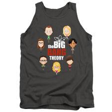 Big Bang Theory Emojis Adult Tank Top