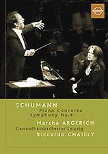 Schumann: Piano Concerto/Symphony No. 4 - Martha Argerich/Gewandhausorchester/Ri