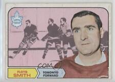 1968-69 Topps #130 Floyd Smith Toronto Maple Leafs Hockey Card