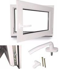 Kellerfenster Kunstoff Fenster 2 Fach Verglasung Dreh Kipp ANGEBOT LAGERWARE