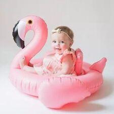 Baby Flamingo Inflatable Pool Float - Inflatable Baby Infant Flamingo Swim Ring