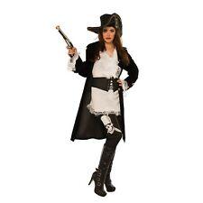 High Seas Raider Pirate Women's Captain Buccaneer Halloween Costume SM-LG