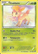 "Carte Pokemon "" VIVALDAIM "" Série Noir & Blanc  PV 60 13/114 VF"