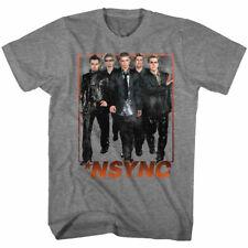 N-Sync Boy Band Group Photo Adult T Shirt Dance Pop Music