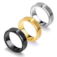 Herren Ring 6,2 mm Wolfram Carbid Tungsten