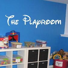 Le Salle de jeu Décoration Murale Décalques vinyles autocollants Boite à jouet