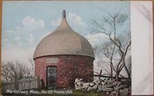 1905 PC: Old Powder House- Marblehead, Massachusetts MA
