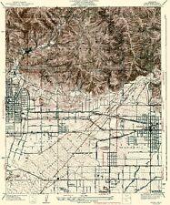 Topographical Map Print - Azusa California Quad - USGS 1939 - 23 x 27.53