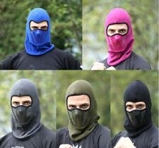 US Men Women Balaclava Face Mask With Windproof Hat Cap Winter Fleece Ski Mask