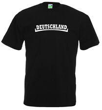 DEUTSCHLAND T-Shirt | Motiv im England-Style | schwarz | S-3XL          909-0-02
