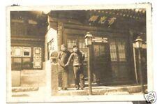 WWII Photo originale de soldat Japonais - guerre de Chine ( 081 )