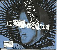 SUM 41 Motivation w/ 3 RARE LIVE TRX CD Single SEALED