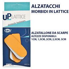 ALZATACCHI UNISEX ALZATALLONI DA SCARPE IN LATTICE E PELLE ALTEZZE DA 1CM A 3CM