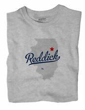 Reddick Illinois IL Ill T-Shirt MAP