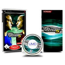 Playstation Portable - PSP Spiel PES PRO EVOLUTION SOCCER 5 in OVP mit Anleitung