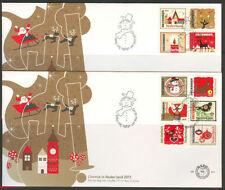FDC E 641 a+b Kerst postzegels 2011
