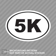"Run 3 mile sticker decals Hot Pink 2 for 1 3.1 5k 3-1//2/"""