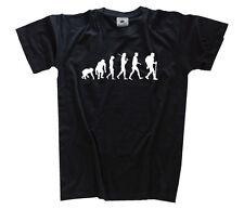 Standard Edition Wandern Wanderer Spazieren Bergwandern Evolution T-Shirt S-XXXL