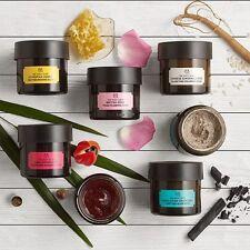 Body Shop | faccia esfolianti & CLAY maschere 75ml | purificare la pelle di controllo olio in eccesso