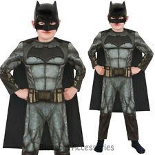 CK675 Batman vs Superman Dawn of Justice Deluxe Batman Boys Fancy Dress Costume