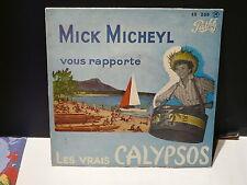 MICK MICHEYL Lles vrais calypsos EG 269 Pour danser le calypso ...