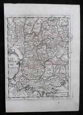 1648 France Lione Lac Leman Marsiglia Saint-Tropez NICE Cannes Rodano-Alpi