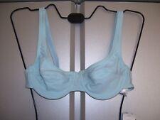 ETIREL Damen Bikini BH Oberteil Bügel BH hellblau Grösse 36 Cub B oder C neu