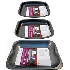 NON STICK BAKING PAN TRAY ROASTING KITCHEN ROASTER BAKE TIN OVEN DISH NEW