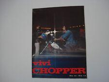 advertising Pubblicità 1973 MOTO FANTIC CHOPPER 50/125