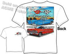 58 59 Chevy TShirt 1958 1959 Impala Tee Chevrolet Clothing Custom Car T Shirt