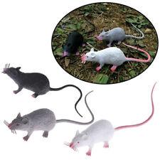 1Pc Halloween Plastic Rats Mouse Model Figures Kids Tricks Pranks Toy Newly