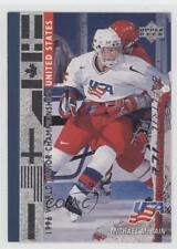 1995-96 Upper Deck Electric Ice 570 Michael McBain Team USA (National Team) Card