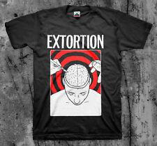 EXTORTION 'Brain' T shirt (Spazz Infest Drop Dead)