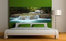Adesivo testata del letto decorazione da muro Cade d'acqua 3692 (5 dimensioni)