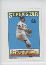1988 30.2 Fernando Valenzuela (Wade Boggs 157) Boston Red Sox Wade Baseball Card