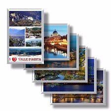 Italia - Valle d'Aosta - calamita da frigo e frigorifero - souvenir con magnete