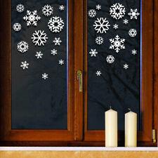 Wandtattoo Wandsticker Wandaufkleber Fensteraufkleber Schneeflocken Winter W885