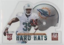 2013 Panini Elite Rookie Hard Hats #69 Mike Gillislee Miami Dolphins Card