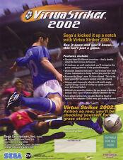 2002 Sega Virtua Striker 2002 Video Flyer Mint