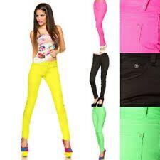 Jeans in Neonfarben von Atixo