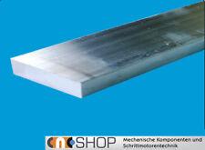 Aluminium Flachstange, Alu Flachmaterial, Flachprofil 60-150 mm Länge wählbar