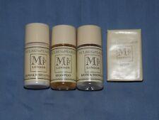 Mulben & Fearne shampoo hand body lotion bath shower gel soap travel sizes 20ml