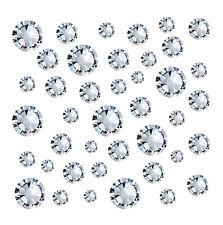 200 KOREA 2.4mm Cystals Rhinestones Foiled Flat Back Nail Art Gems CLEAR